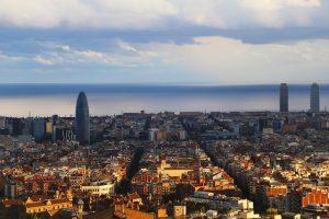 Barcelone : vue sur la ville