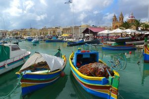 Marsaxlokk : village type de pêcheurs