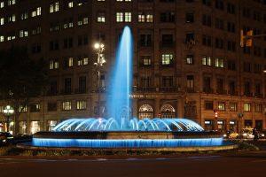 Barcelona : Passeig de Gracia - Place Catalunya